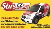 Stu's EZ Auto Remotes Stuart Gross