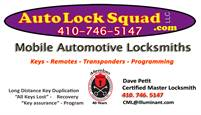 Auto Lock Squad LLC dave petit