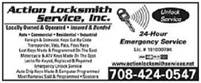 Action Locksmith Services, Inc. Action Locksmith