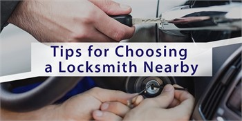 Tips for Choosing a Locksmith Nearby