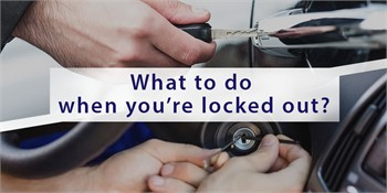 What to do when you're locked out?